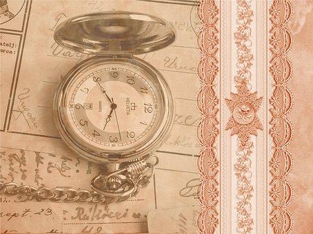 Steampunk, Pocket Watch, Clock, Old, Clock Face