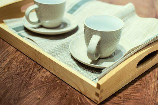 Cup Of Coffee, Coffee, Wooden, The Drink, Morning