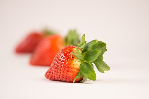 Food, Healthy, Close, Diet, Snack, Fruit, Strawberry