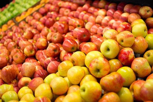 Fruit, Apple, Food, Market, Freshness, Healthy