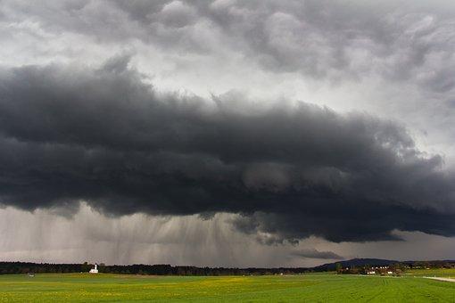 Forward, Landscape, Nature, Sky, Gust Front