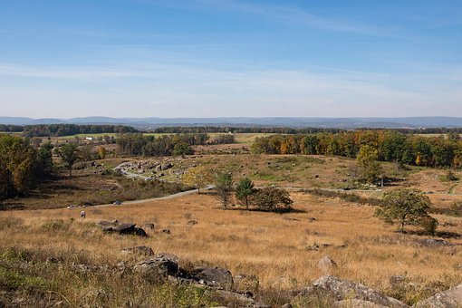 Nature, Landscape, Outdoors, Gettysburg, Civil War