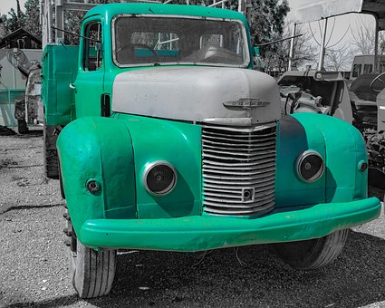 Vehicle, Car, Machine, Nostalgia, Classic, Truck, Retro