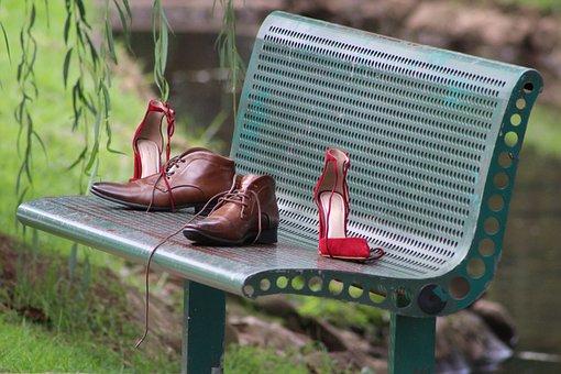 Bench, Summer, Outdoors, Garden, Seat