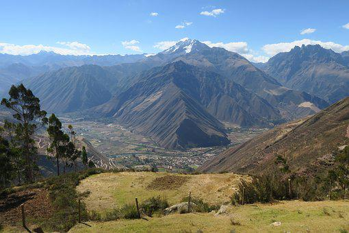 Mountain, Nature, Landscape, Travel, Sky, Panoramic
