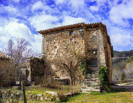 Architecture, Old, Outdoors, Travel, Stone, Sky