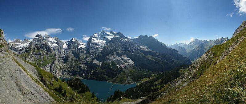 Mountain, Nature, Panoramic, Snow, Panorama, Landscape