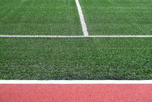 Turf, Stadium, Field, Lawn, Corner, The Line, Ye Tian