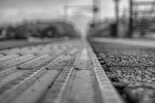Platform, Blurry, Out Of Focus, Blur, Transport System