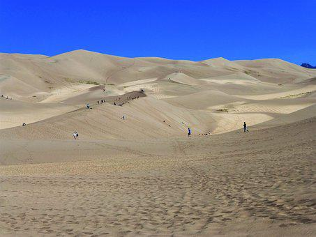 Usa, National Park, Sand, Desert, Landscape, Travel
