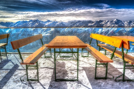 Travel, Winter, Chair, Sky, Tourism, Snow, Austria