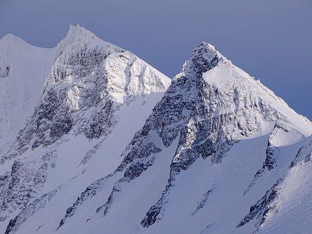 Mountains, Volcano, Vertices, Ridge, Slopes
