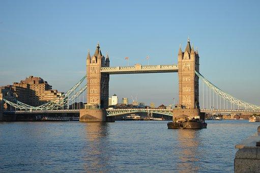 Bridge, Water, Architecture, River, City, Landmark