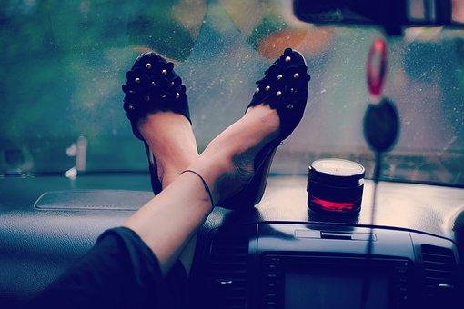 People, Woman, Fashion, Shoe, Care, Music, Beauty