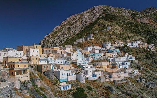 Architecture, City, Panorama, Travel, Greece