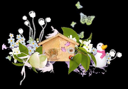 Spring, Flower, Shell, Egg, Bloom, Spring Flower