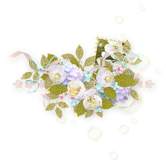 Spring, Bloom, Nature, Hydrangea, Flowers, Tape