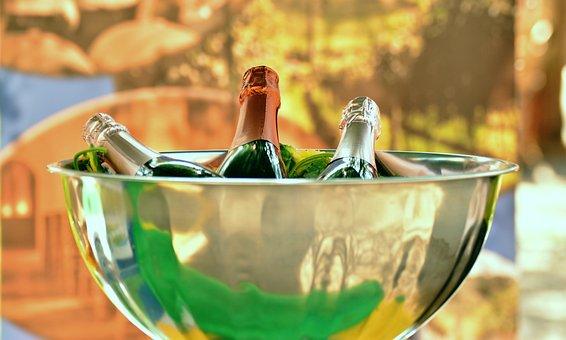 Champagne, Champagne Bottles, Champagne Cooler