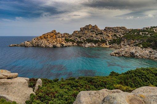 Coast, Sea, Waters, Beach, Nature, Corsica, Sardinia