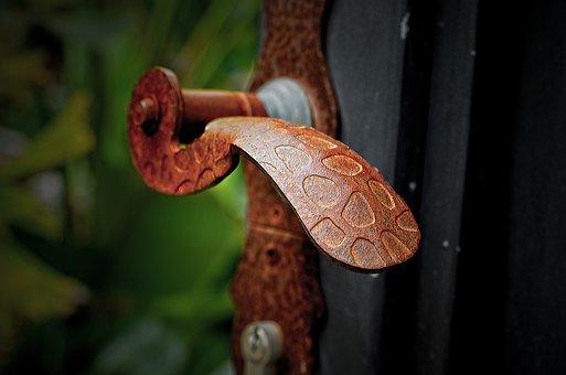Nature, Desktop, Wood, Iron, Door, Outdoor, Old, Metal