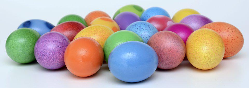 Easter Eggs, Colorful, Easter, Happy Easter, Color