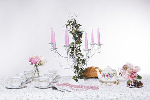 Candle, Decoration, Flower, Celebration, Garden, Party