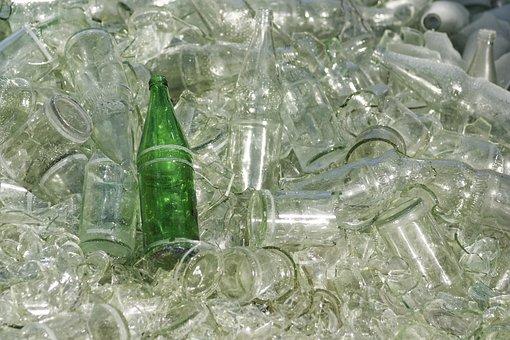 Glass, Bottle, Crystal, Background, Drink, Unique