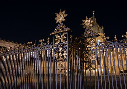 Castle, Charlottenburg Palace, Fence, Iron