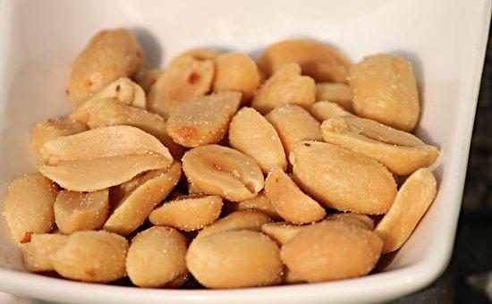 Peanuts, Roasted, Salted, Cores, Peanut Kernels, Nuts