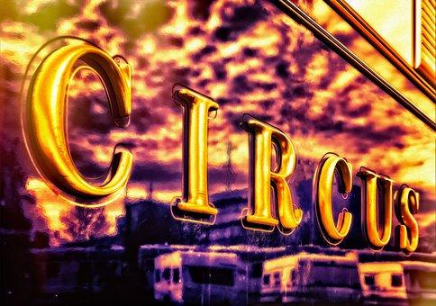Circus, Fun, Colorful, Funny, Ring, Magic, Clown