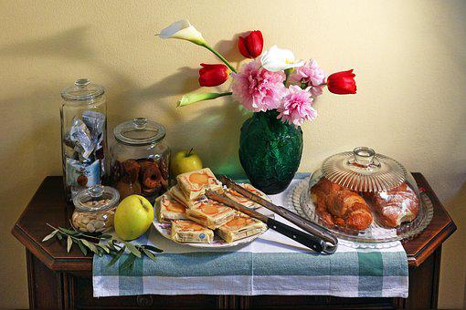 Food, Table, Mobile, Ancient, Wood, Eat, Breakfast