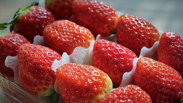 Strawberry, Mr, Fruit, Red, Display Cases, The, Lists