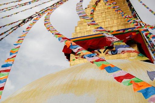Kathmandu, Nepal, Asia, Stupa, Buddhism, Travel