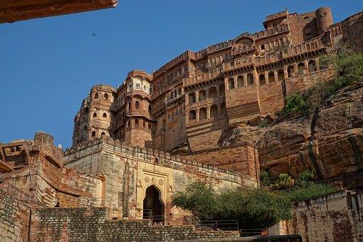 Jodhpur, India, Architecture, Old, Travel, Antiquity