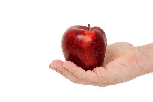 Red Apple, Food, Isolated, Health, Apple, Healthy