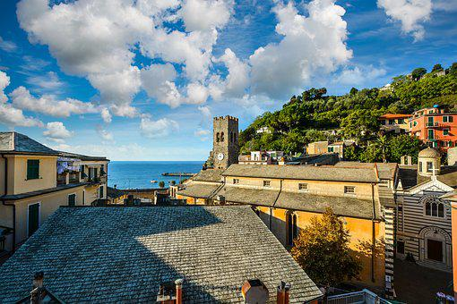 Architecture, Panoramic, City, Travel, House