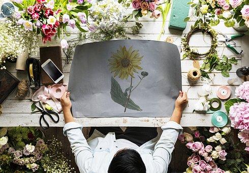 People, Arrangement, Art, Blank, Business, Copy Space