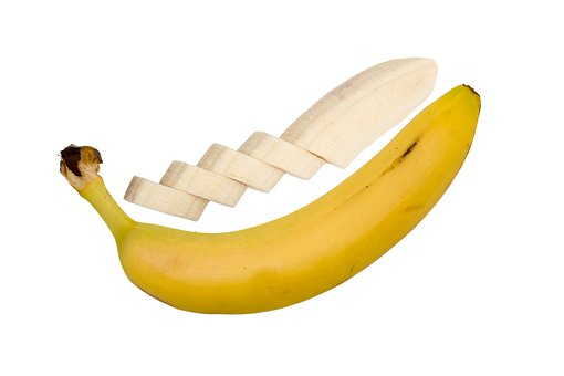 Banana, Isolated, Food, Health, Nutrition, Breakfast