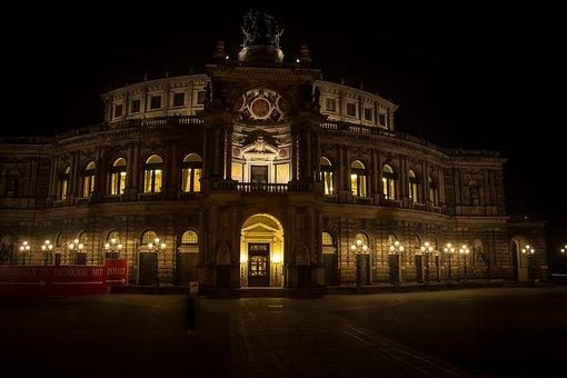 Architecture, Travel, City, Illuminated, Building