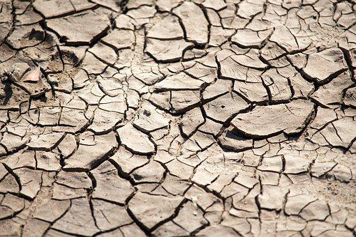 Drought, Climate, Arid, Mud, Dry