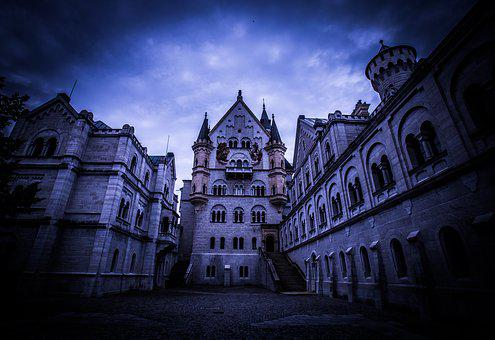 Architecture, Building, Sky, Dusk, City, Tower, Gothic
