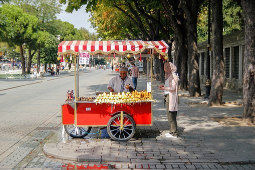 Istanbul, Constantinople, Turkey, Street, City, Since
