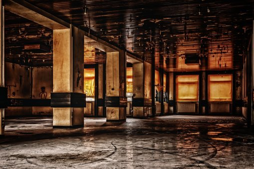 Hall, Space, Ballroom, Mensa, Lost Places