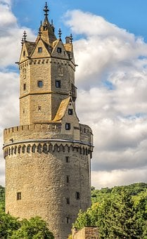 Stone, Building, Round Tower, Andernach, Old