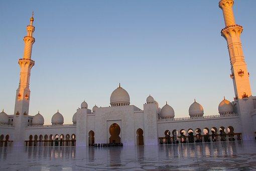 Sunset, Evening, Pray, Muslim, Amazing