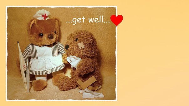 Get Well Soon, Recovery, Wishes For A Speedy Recovery