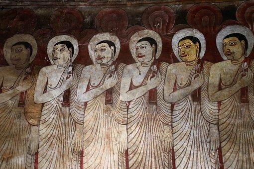 Fresco, Stone, Religion, The Art Of, Holy, Spirituality
