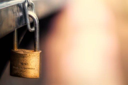 Castle, Steel, Padlock, Security, Secure, Closed, Blur