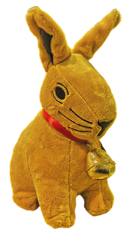 Easter Bunny, Stuffed Animal, Bell, Hare, Soft Toy