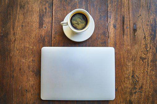 Coffee, The Work, Office, Computer, Caffeine, Laptop